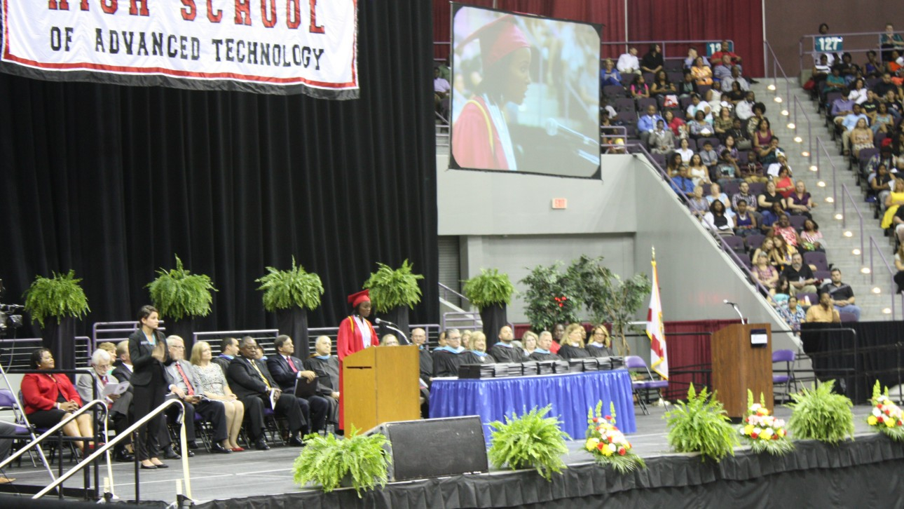 Pensacola Bay Center Graduation Ceremony